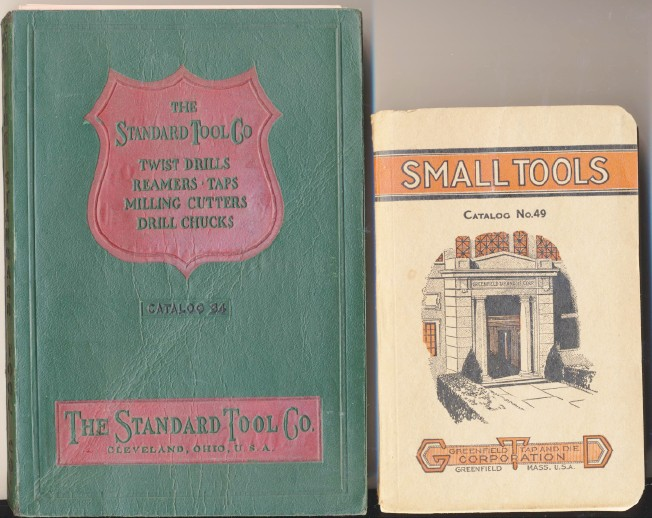 1925 & 1934 Tool Catalogs - Taps Dies Twist Drills Reamers +++